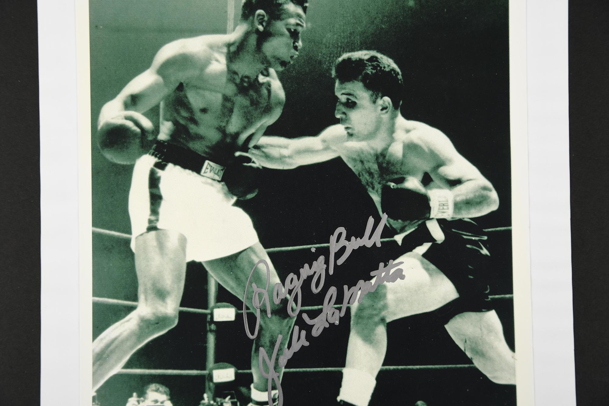 JAKE LA MOTTA Original signature - Image 3 of 3