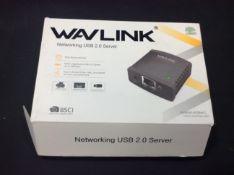 Wavlink networking usb 2.0 server