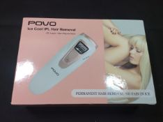Povo ice cool ipl hair removal