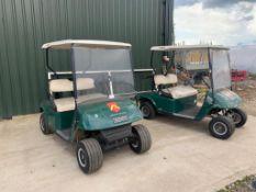 2 x Ezgo Golf Buggies