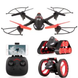 (R3K) 2 Items. 1x Red5 FX GPS FPV Quadcopter. 1x FX 3 In 1 Transforming FPV Vehicle. (All With RTM