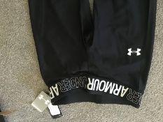 Under Armour Black Leggings Age 15-16 Brand New