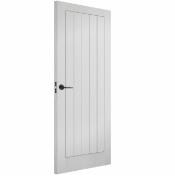 7 X LPD Vertical 5P Primed White Doors 762x1981x35mm 78X30 INCH
