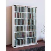 Mercury Row Multimedia Storage Rack 91cm H x 60cm W x 18cm D