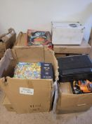 Pallet of raw unchecked returns and jigsaws no reserve