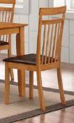 Elisa shaker chairs, beech set of 2
