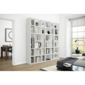 Jena fitted bookcase 6 packs 221.3cm height approx 220cm length