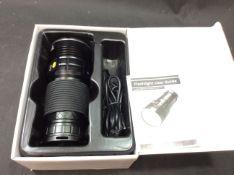 Led flashlight taschenlampe