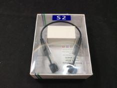 Bone conduction sports bt headset S2