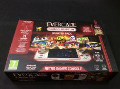 Evercade retro games console PT-BECA-HHC-EFIGS