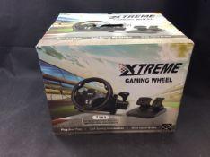Xtreme gaming steering wheel