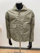 Brand New SkinniFitt Men's Olive Jacket - Large RRP 39.95