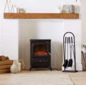 1850W Small Black Stove Heater
