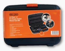 Brand New Stag Tools 41 Piece Pro Torque Socket Wrench Set
