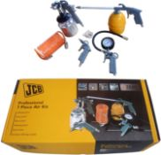 Brand New JCB Professional 7 Piece Air Kit - RRP 45.00