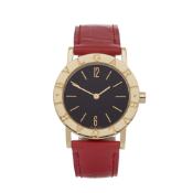 Bulgari B-Zero BB 30 GL Ladies Yellow Gold Watch