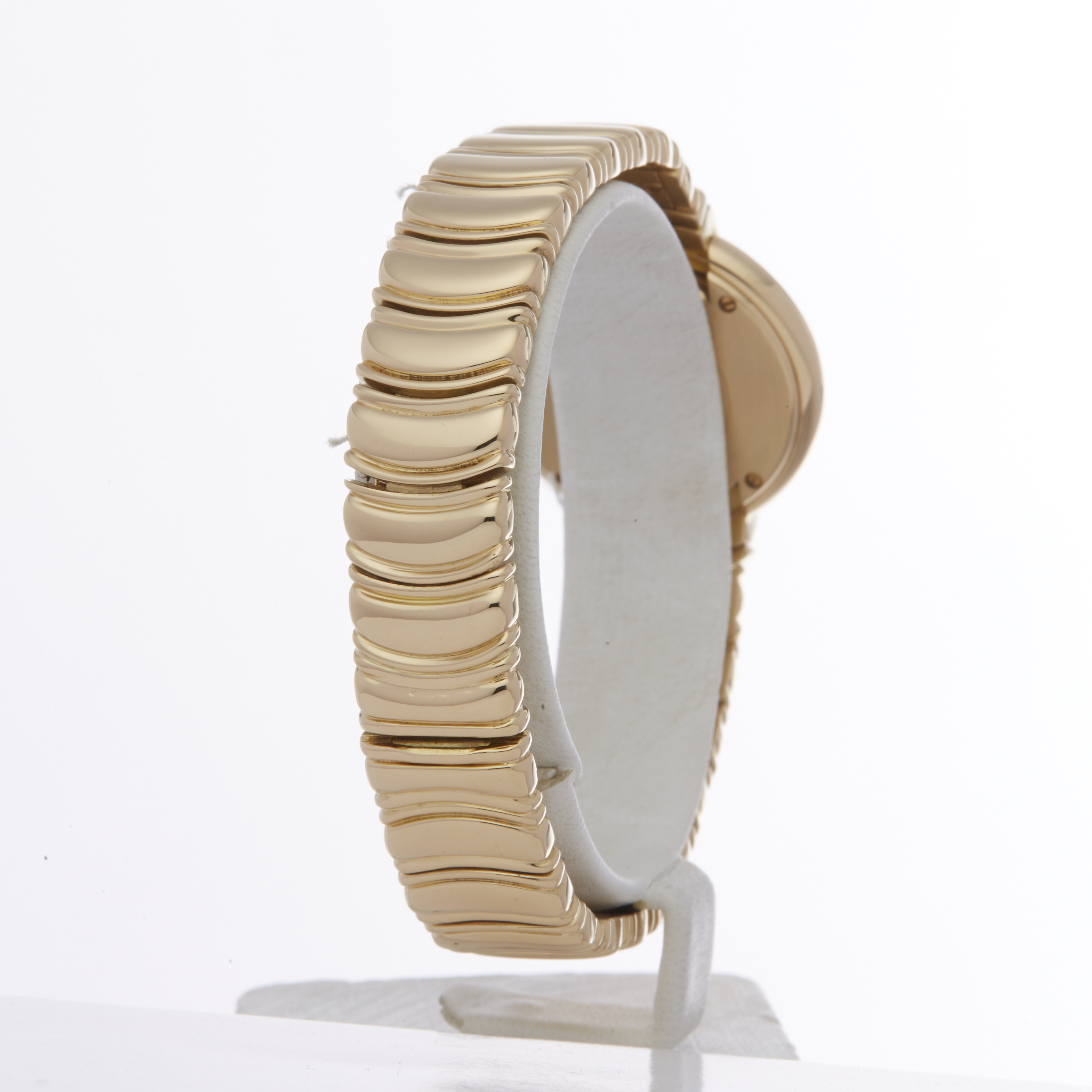 Cartier Vendome 878999 Ladies Yellow Gold Paris Mecanique Diamond Watch - Image 3 of 6