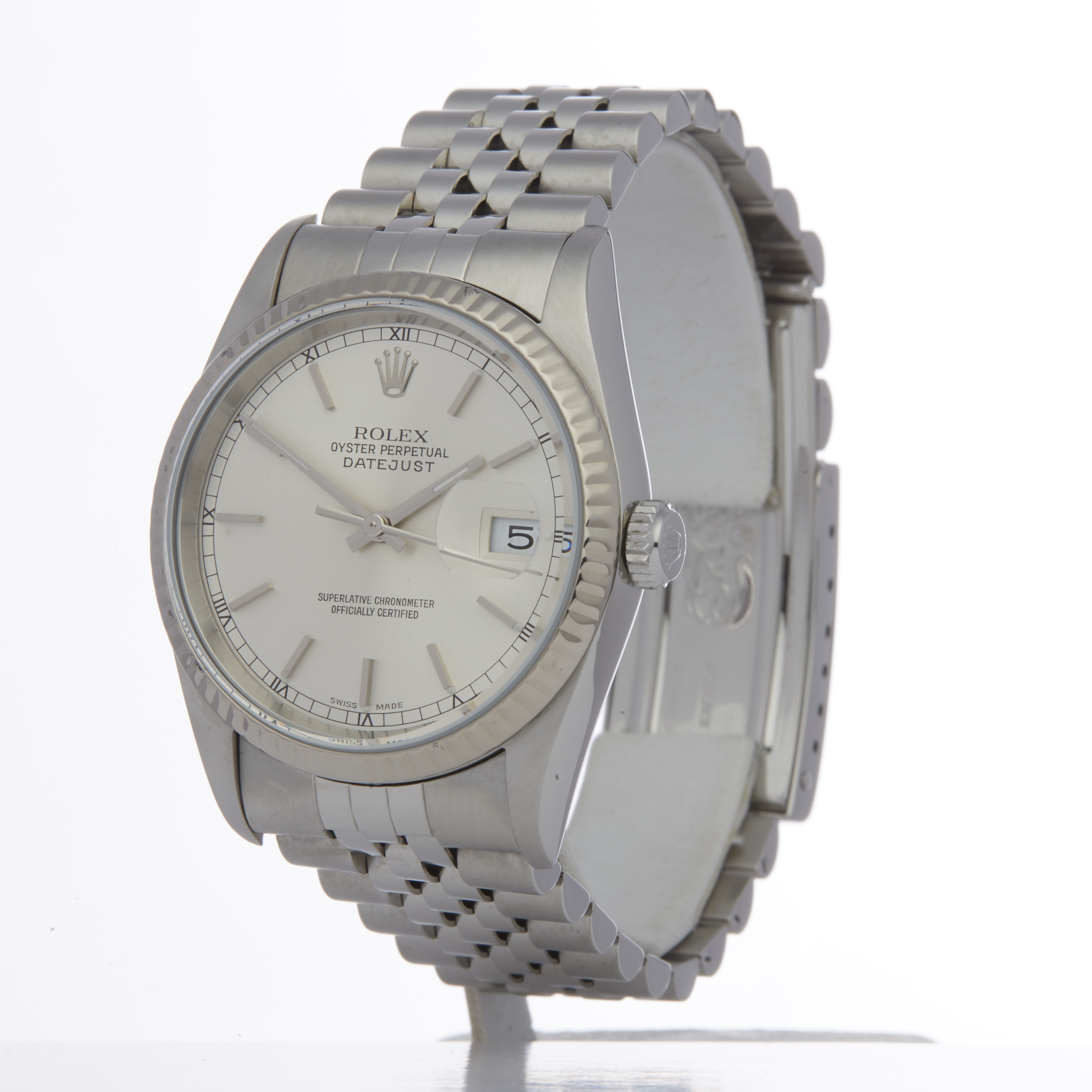 Rolex Datejust 36 16234 Unisex Stainless Steel Watch - Image 6 of 6