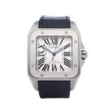 Cartier Santos 100 2656 or W20073X8 Men Stainless Steel Watch