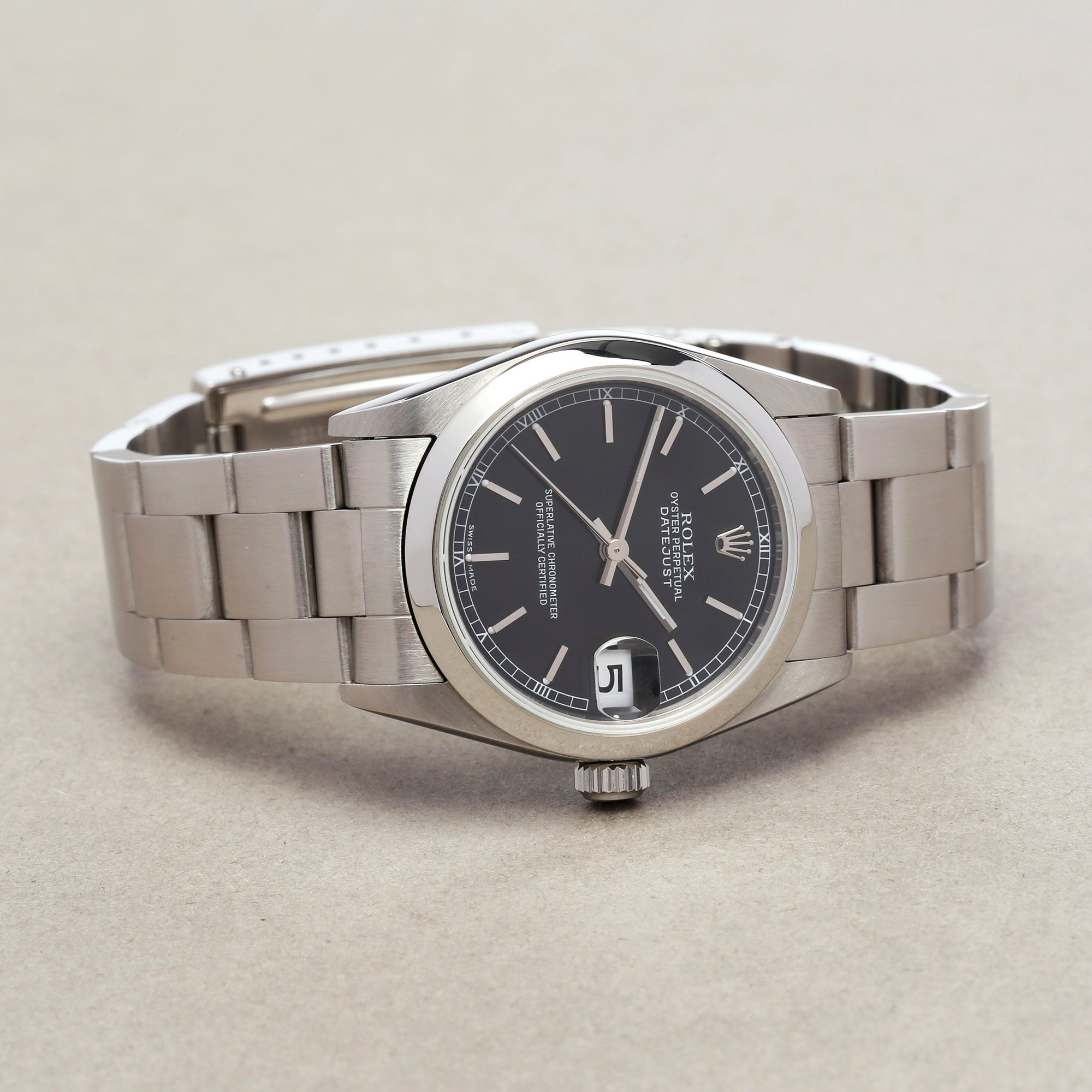 Rolex Datejust 31 78240 Ladies Stainless Steel Watch - Image 10 of 10