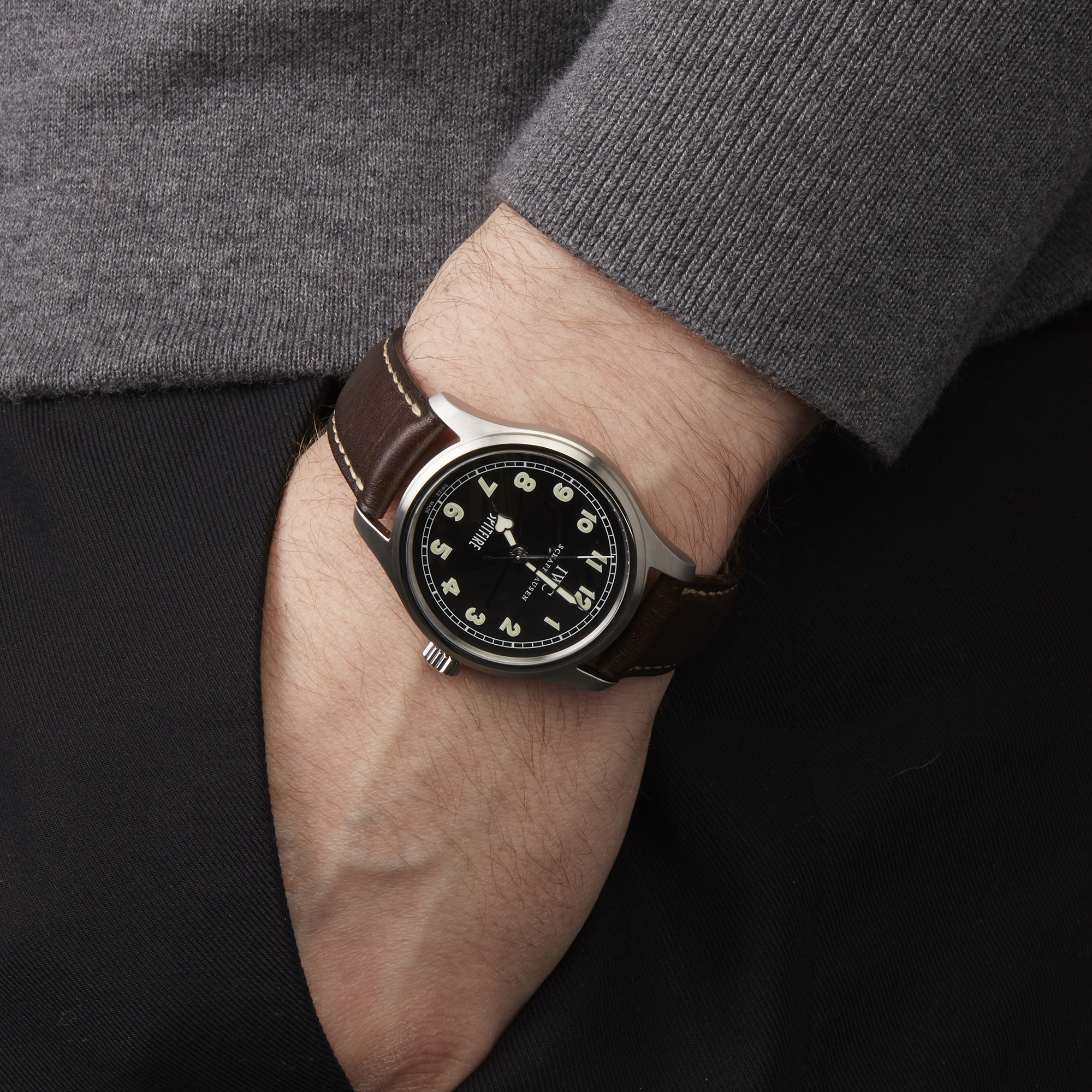 Pilot's Spitfire IW325305 Men Stainless Steel MK XV Limited Edition of 1000 pieces Watch - Image 2 of 10