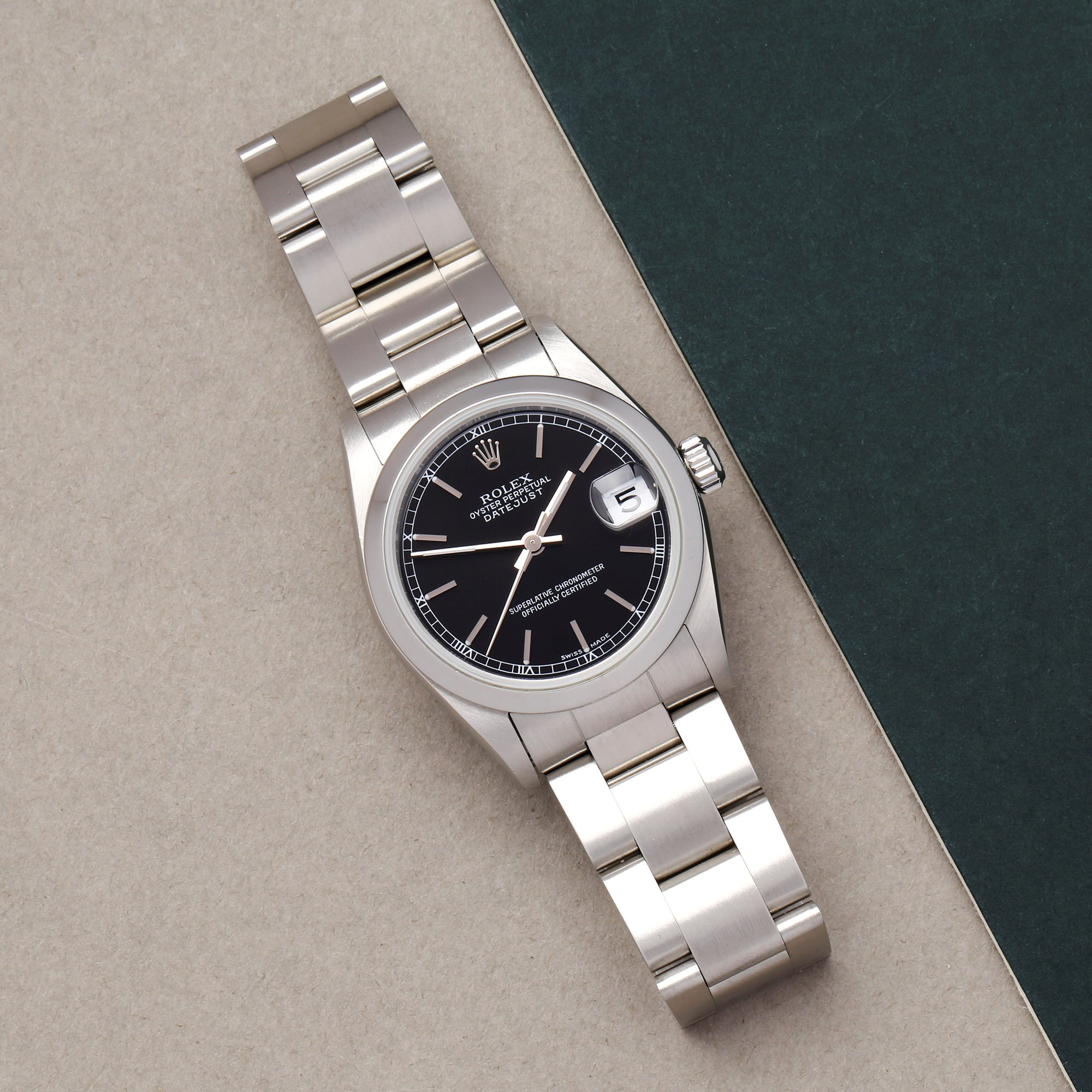 Rolex Datejust 31 78240 Ladies Stainless Steel Watch - Image 7 of 10