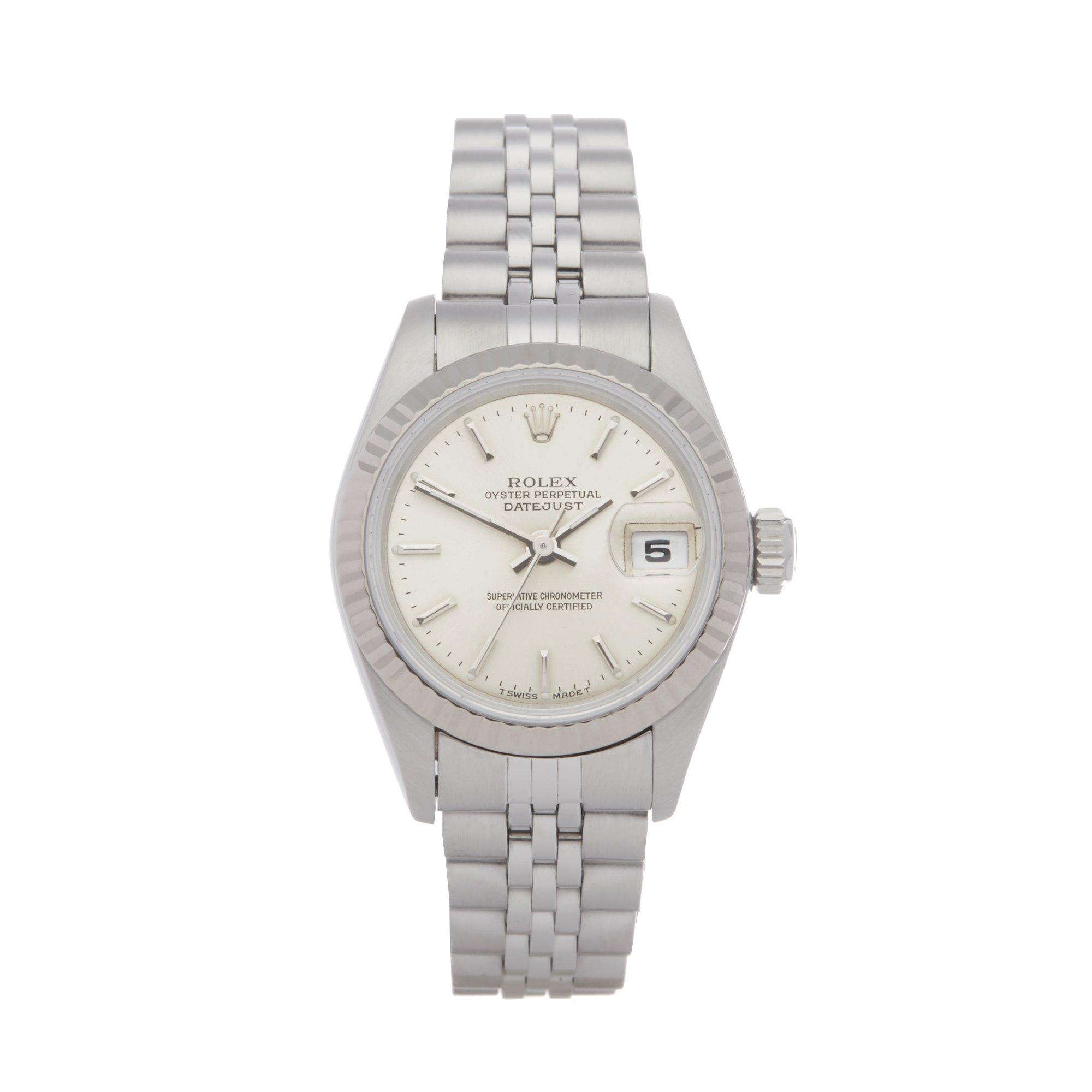 Rolex Datejust 26 69174 Ladies Stainless Steel Watch