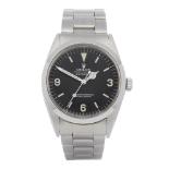Rolex Explorer I 1016 Men Stainless Steel Watch