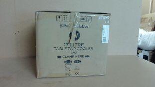 Russell Hobbs 17 Ltr Table Top Cooler - Working Customer Returns