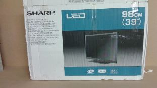 """Sharp 39""""LCD TV (for spares and repair only)"""