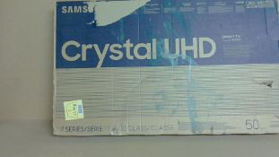 """Samsung Crystal UHD 50"""" Smart TV (for spares and repairs only)"""