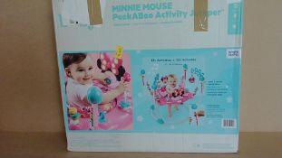 Minnie Mouse PeekaBoo Activity Jumper - Customer Returns