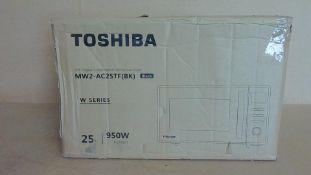Toshiba MW2-AC25TF Black 25l Microwave Customer Returns