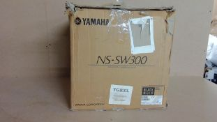 Yamaha NS-SW300 Subwoofer