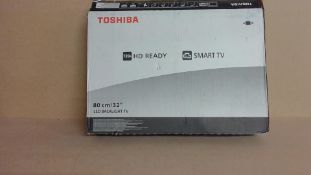 """Toshiba 32"""" Smart TV (for spares and repair only)"""