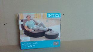 Intex Air Furniture Chair and Footstool - Customer Returns