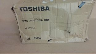 Toshiba MW2-AC25TF Black Microwave customer returns