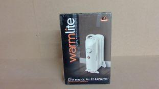 Warmlite 650w 5 fin Oil Filled Radiator (new)