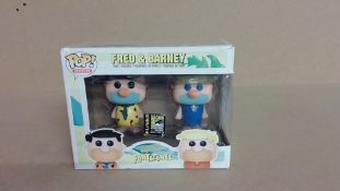 Fred and Barney Pop Vinyl (New)