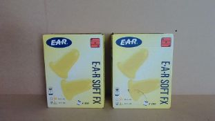 E.A.R Soft FX Ear Plugs - 2 Boxes of 200 units (400 in total) - Brand New