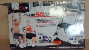 Chair Gym 50 Exercise (appear new inside)