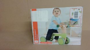 Love Play Learn Wooden Scooter Customer Return