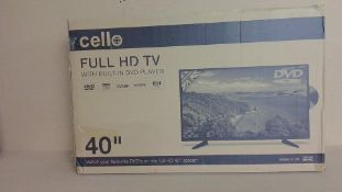 """Cello 40"""" full HD TV (for spares and repair only)"""