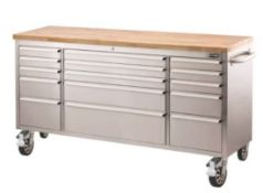 """1x Ultimate Storage 72"""" Ultimate Tool Trolley (UWT072) RRP £700. Overall Dimensions With Handles ("""