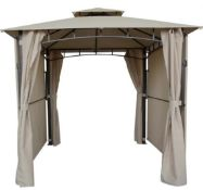 1x Gazebo With Extended Panels RRP £230. Dimensions H265 x W250 x D250cm extend to approx. W500xD4
