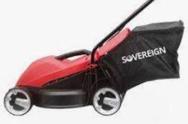 (R5G) 5 Sovereign Items. 2x Cordless Grass Trimmer (No Batteries). 1x Corded Grass Trimmer. 1x 32cm
