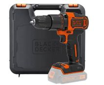 (R5F) 4 Items. 1x Black And Decker 18V Drill BCD700S (With Battery And Charger). 1x Ozito Bench Gri