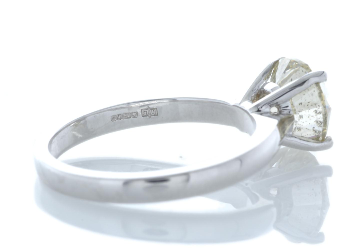 18ct White Gold Rex Set Diamond Ring 2.29 Carats - Image 3 of 5