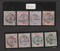 Leeward Islands 1897