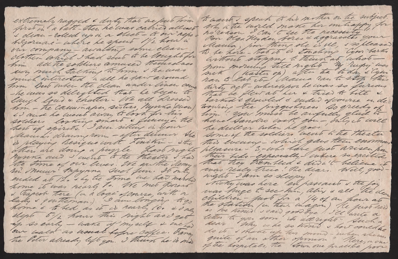 Royalty Grand Duchess Olga Correspondence To Her Sister Grand Duchess Xenia 1916-1920 - Image 45 of 47